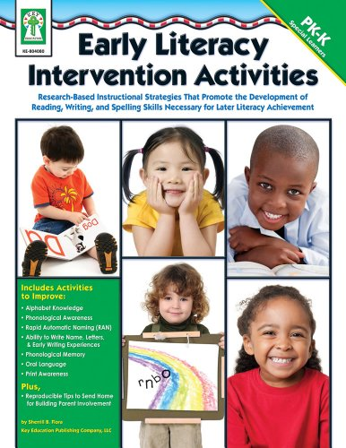 9781602680739: Early Literacy Intervention Activities: Research-Based Instructional Strategies That Promote the Development of Reading, Writing, and Spelling Skills