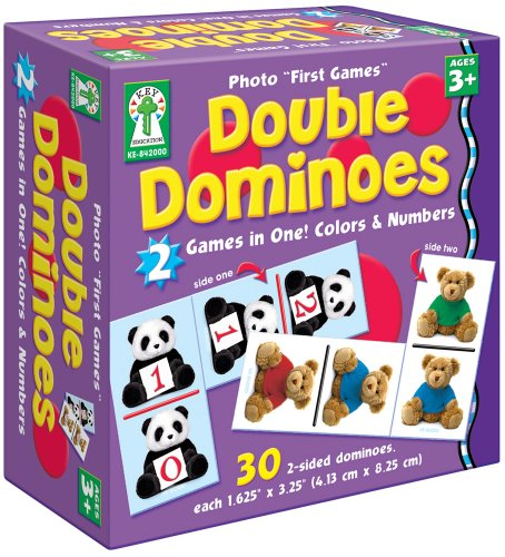 "9781602680920: Double Dominoes: Colors & Numbers (Photo ""First Games"")"