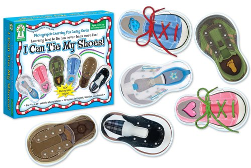 9781602681101: I Can Tie My Shoes Lacing Cards