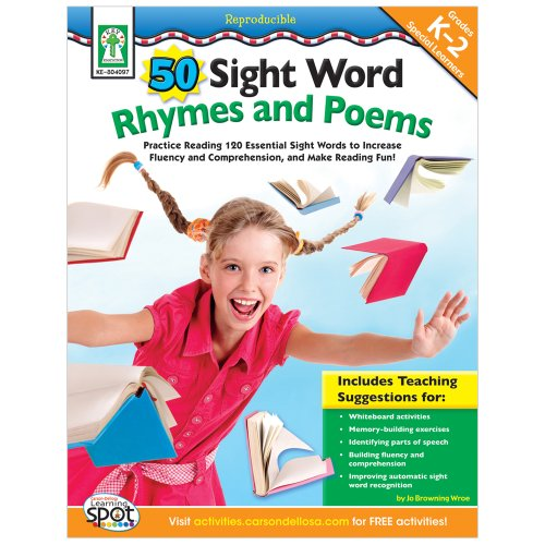 9781602681170: 50 Sight Word Rhymes and Poems, Grades K - 2