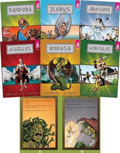 9781602701328: Short Tales Greek Myths (Set of 6)