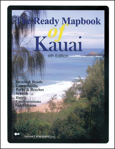 9781602743236: Ready Mapbook of Kauai