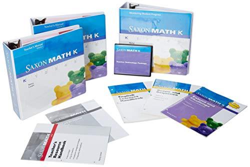 9781602770942: Saxon Math K: Teacher Materials