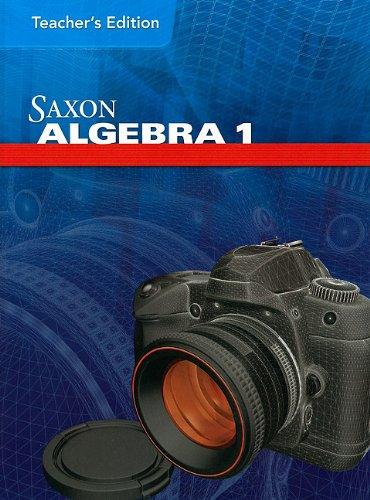 9781602773028: Saxon Algebra Teacher Edition