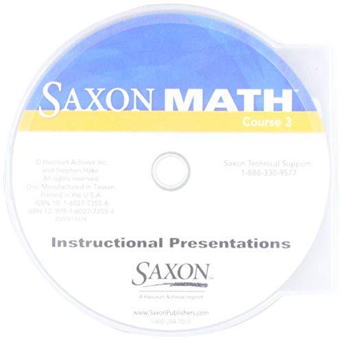 9781602773554: Saxon Math, Course 3