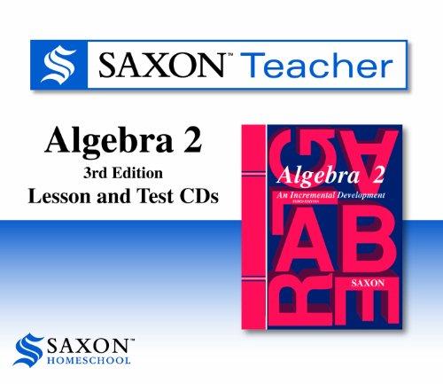 Algebra 2: Homeschool Teacher Kit: Saxon Publications