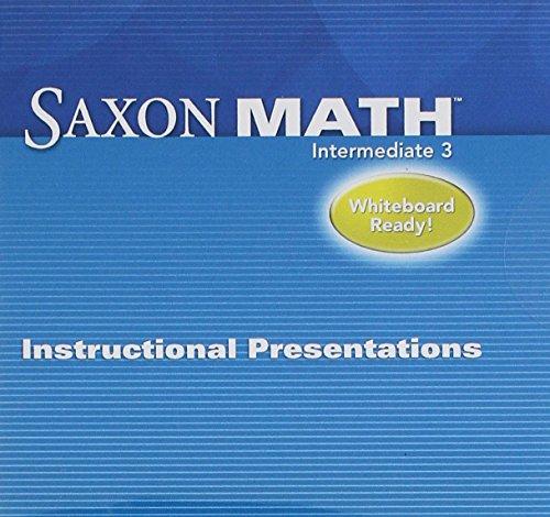 9781602774315: Saxon Math 3: Instructional Presentation CD