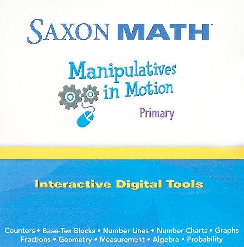 9781602774445: Saxon Math: Manipulative Motion Primary Primary