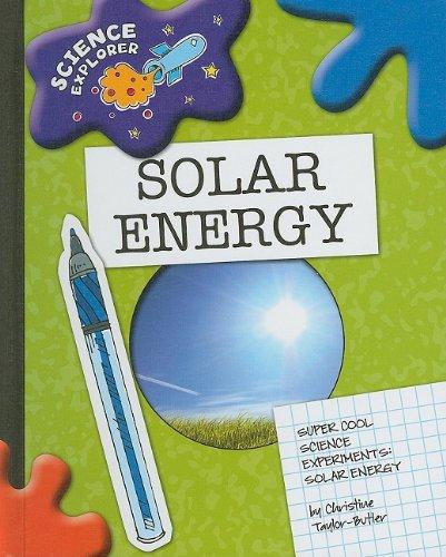 9781602795273: Solar Energy: Super Cool Science Experiments (Science Explorer)