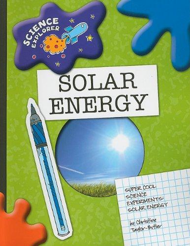 9781602796065: Solar Energy: Super Cool Science Experiments