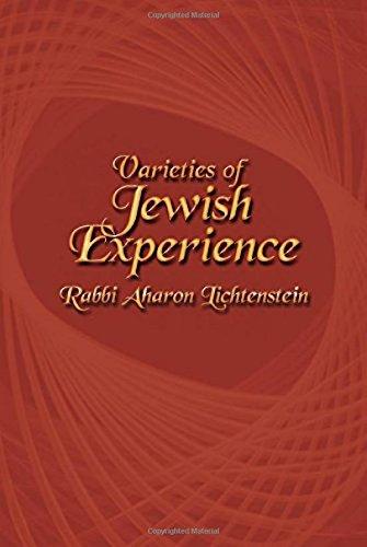 9781602801868: Varieties of Jewish Experience