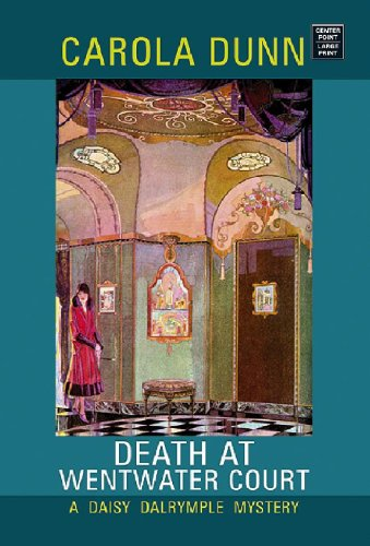 9781602850354: Death at Wentwater Court (Center Point Premier Mystery (Largeprint))