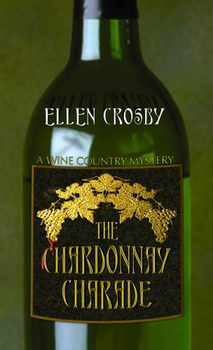 9781602850897: The Chardonnay Charade (Center Point Premier Mystery (Large Print))