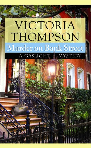 9781602855687: Murder on Bank Street (Center Point Premier Mystery (Large Print))