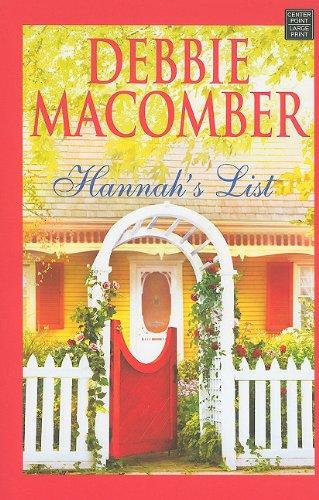 Hannah's List (Center Point Platinum Fiction): Debbie Macomber