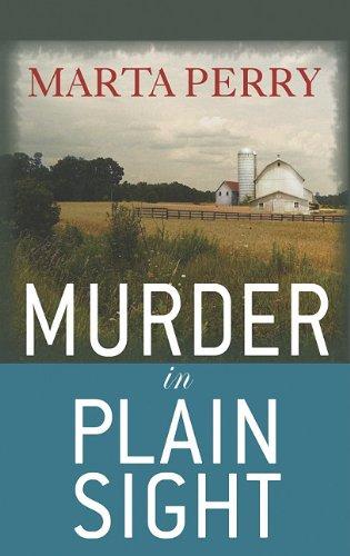 9781602859692: Murder in Plain Sight (Center Point Christian Mystery (Large Print))