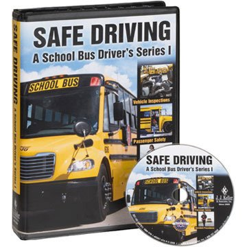 9781602874718: Safe Driving: A School Bus Driver's Series I (Training DVD)