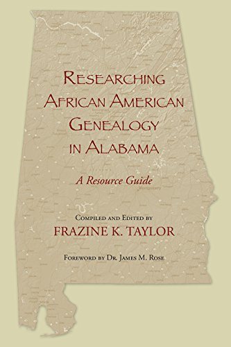 9781603060448: Researching African American Genealogy in Alabama: A Resource Guide