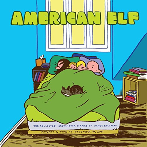 9781603092654: American Elf Book 4: The Collected Sketchbook Diaries of James Kochalka: January 1 2008 - December 31 2011