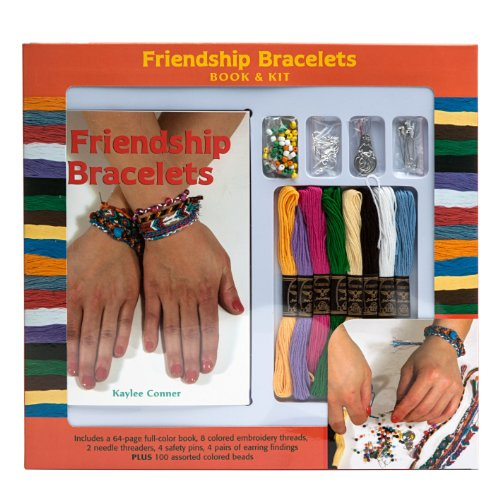 Friendship Bracelet Book & Kit: n/a