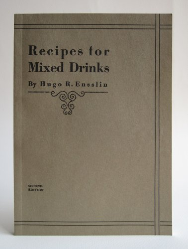 9781603111904: Recipes for Mixed Drinks