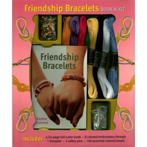 Friendship Bracelets Book & Kit: Conner, Kaylee