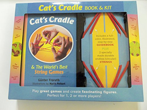 Cat's Cradle & World's Best String Games- Book and Kit
