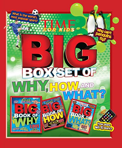 9781603204262: Time for Kids Big Box Set of Why, How and What?