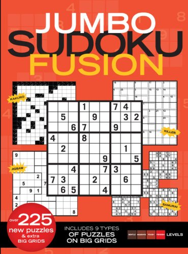 Jumbo Sudoku Fusion (160320752X) by Time Inc. Home Entertainment