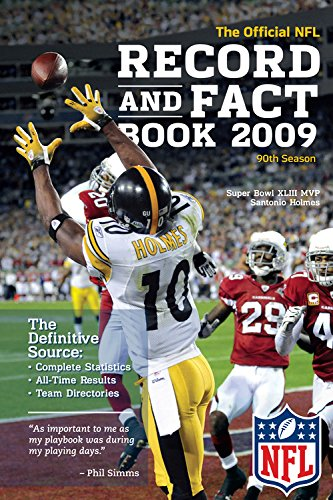 9781603208093: NFL Record and Fact Book 2009 (OFFICIAL NATIONAL FOOTBALL LEAGUE RECORD AND FACT BOOK)