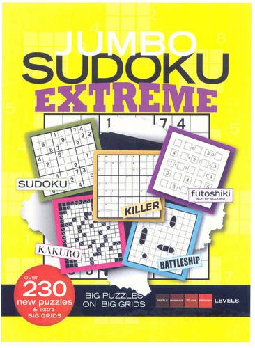 Jumbo Sudoku Extreme (1603208100) by Time Inc. Home Entertainment