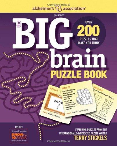 9781603208208: Alzheimer's Association Presents The Big Brain Puzzle Book