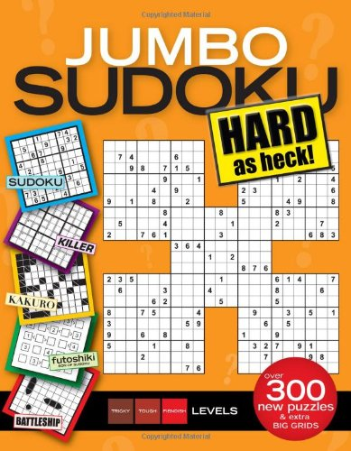 9781603208246: Jumbo Sudoku Hard as Heck
