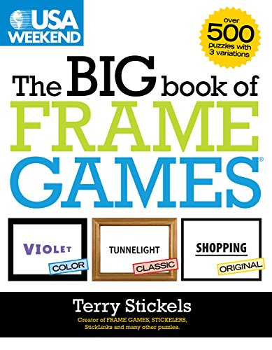 9781603208819: USA Weekend The Big Book of Frame Games