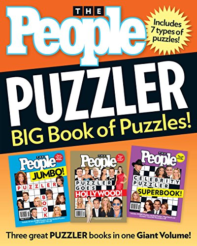 People Puzzler: BIG Book of Puzzles!: Editors of People Magazine