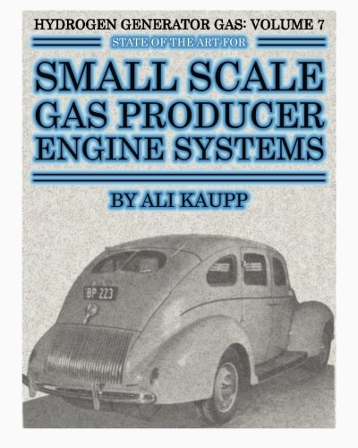 Hydrogen Generator Gas: State of the Art for Small Scale Gas Producer Engine Systems (Hydrogen Gas ...