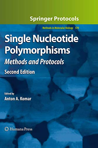 9781603274104: Single Nucleotide Polymorphisms: Methods and Protocols (Methods in Molecular Biology)