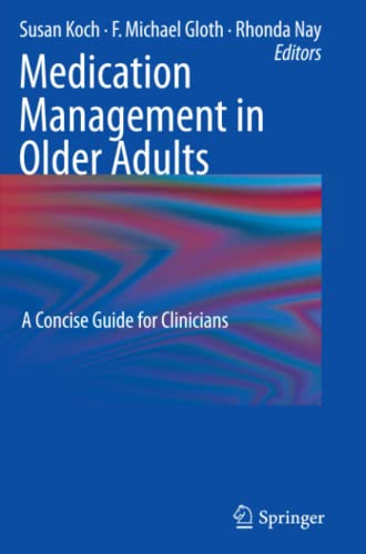 9781603274562: Medication Management in Older Adults: A Concise Guide for Clinicians