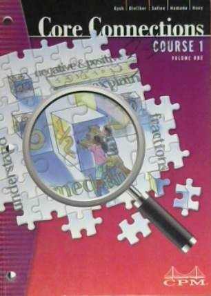 9781603280754: Core Connections Course 1 Volume One Second Edition, Version 5.0