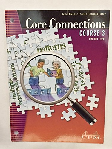 9781603280907: Core Connections Course 3 Volume 2