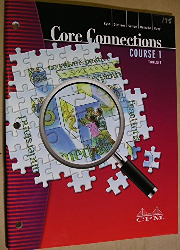 9781603280945: Core Connections Course 1 Toolkit
