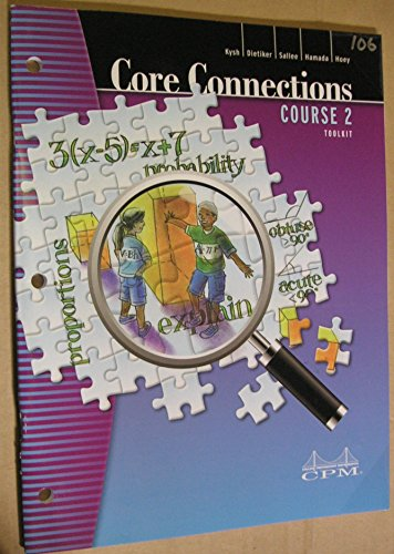 Core Connections Course 2 Toolkit: Kysh, Dietiker, Sallee,