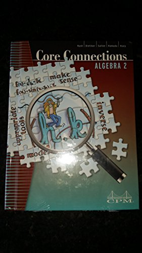 Core Connections Algebra 2 Student Edition