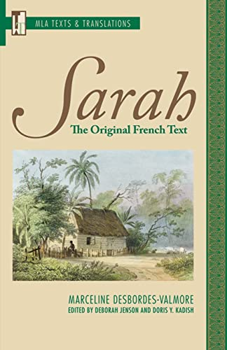 9781603290265: Sarah: The Original French Text (Texts and Translations) (French Edition)