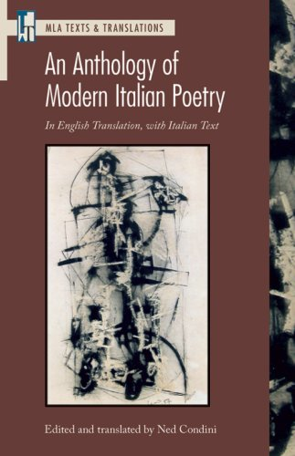 9781603290326: An Anthology of Modern Italian Poetry: In English Translation, With Italian Text