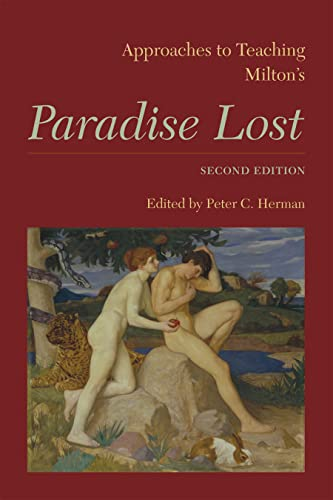 9781603291170: Approaches to Teaching Milton's Paradise Lost: second edition (Approaches to Teaching World Literature)