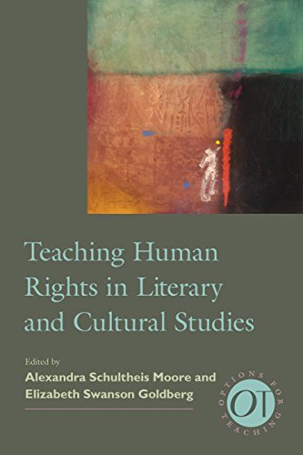 9781603292160: Teaching Human Rights in Literary and Cultural Studies (Options for Teaching)