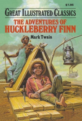 9781603400336: The Adventures of Huckleberry Finn (Great Illustrated Classics)