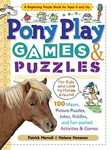 9781603420631: Pony Play Games & Puzzles (Storey's Games & Puzzles)
