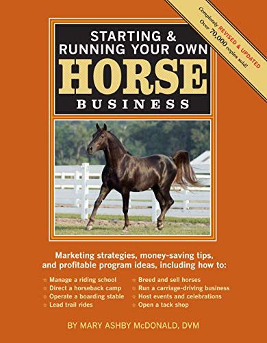 9781603424837: Starting & Running Your Own Horse Business, 2nd Edition: Marketing strategies, money-saving tips, and profitable program ideas